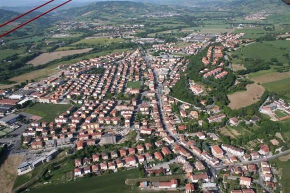 In volo su Montecchio, 19 Maggio 2009