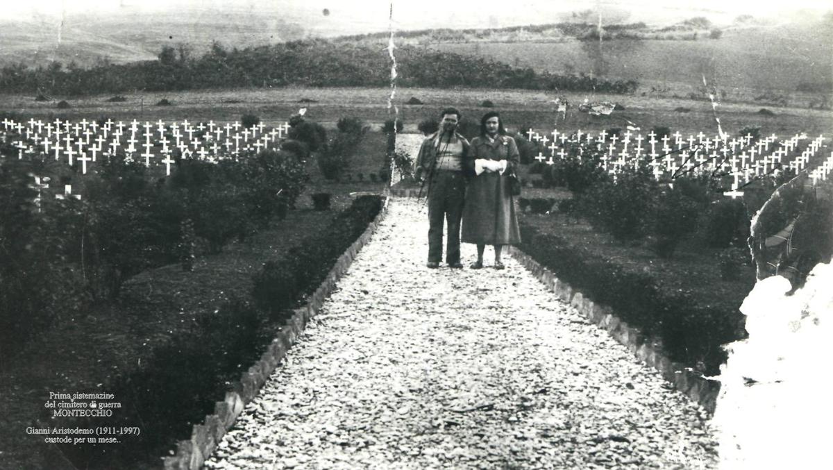 MONTECCHIO - cimitero militare bbb